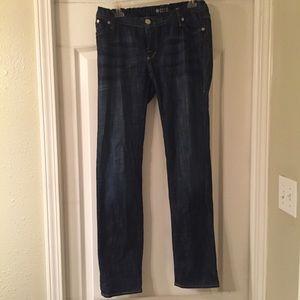 Rock & republic expandable waist maternity jeans